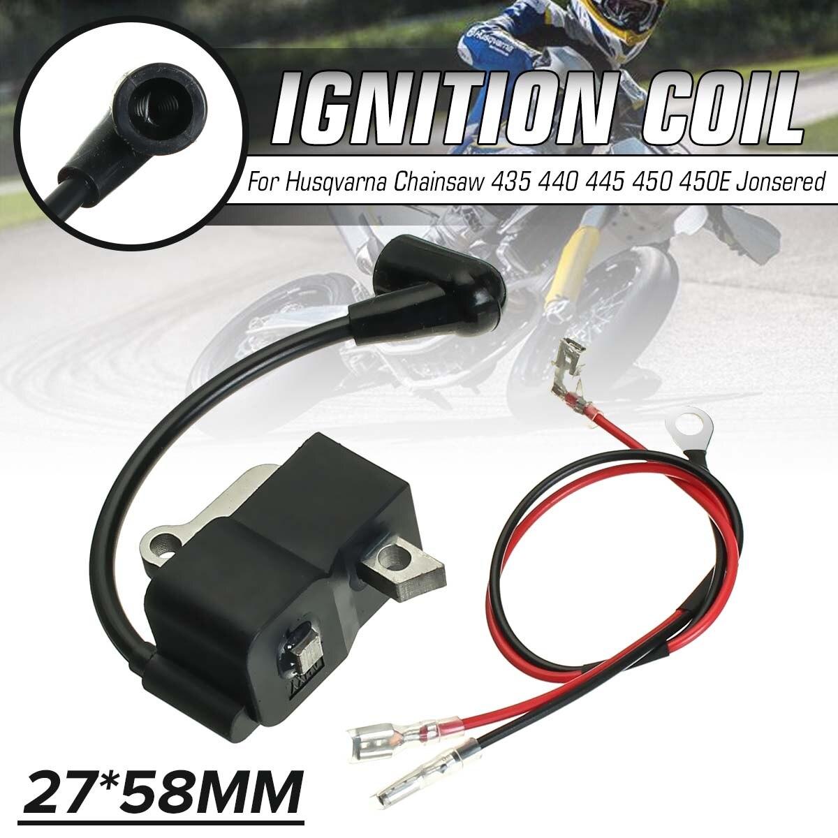 Ignition Coil สำหรับ Husqvarna Chainsaw 435 440 445 450 450E Jonsered