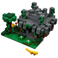 10623 Minecrafted The Jungle Temple Compatible with Legoing Block Set Creative Building Toy For Kids