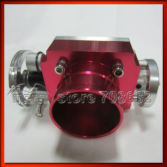 Алюминий vq36tps 70 мм Универсальный Дроссельной заслонки серебро