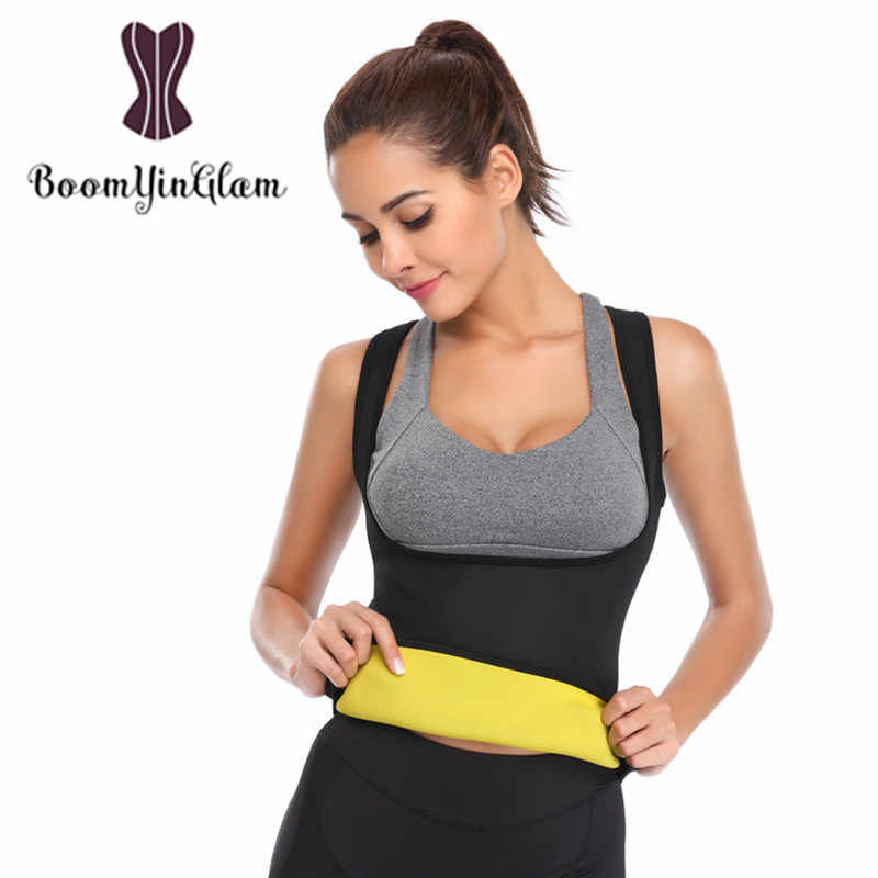 6bffd873034 ... Shoulder Straps Thermo Hot Shapers Neoprene Women Body Slimming  Shapewear Waist Trainer Sweat Sauna Vest for
