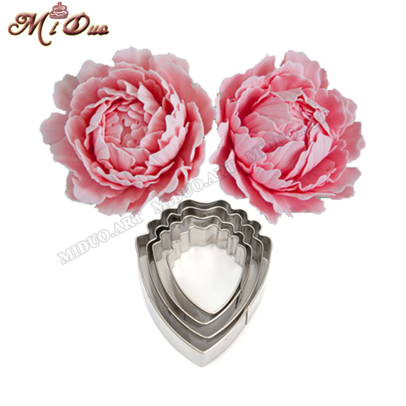 Aliexpress Com Buy 4 Pcs Fondant Cake Decoration Floral