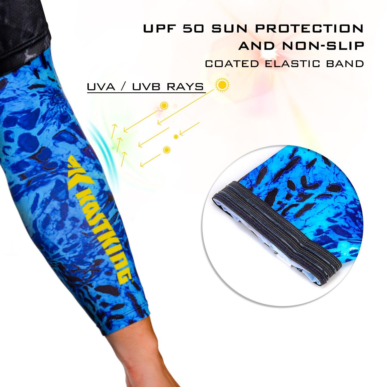 UPF 50 Sun Sleeves Sun Protection Sleeves for Fishing Hiking Paddling Rowing Kayaking Cycling KastKing Sol Armis UV Protection Arm Sleeves