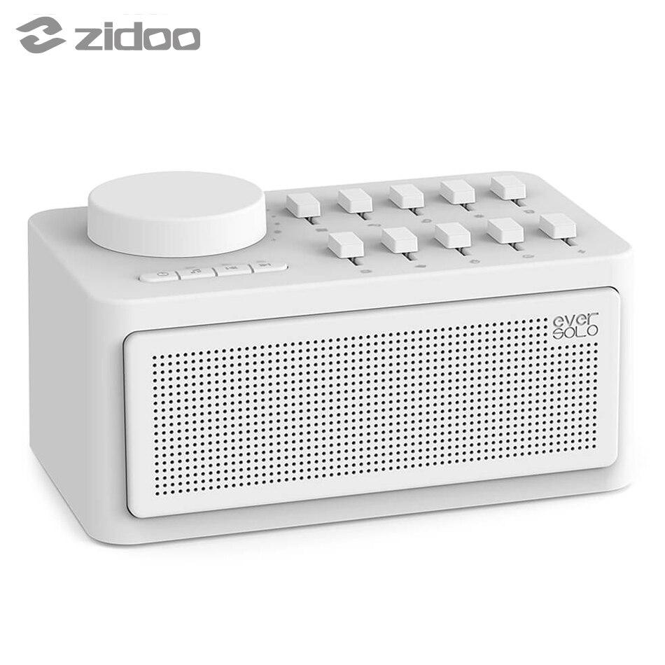 Zidoo Eversolo Aiuto di Sonno Macchina Terapia del Sonno Altoparlante Senza Fili Generatore di Rumore Bianco Bluetooth Sonno Macchina del Suono Eversolo
