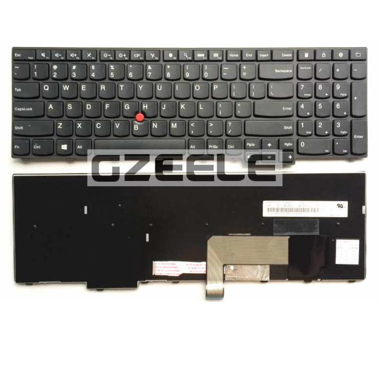 US New Keyboard FOR LENOVO ThinkPad E531 L540 W540 T540 T540P E540 laptop keyboard BLACK