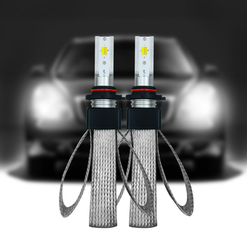 T9-HB3/9005/H1 LED car headlight 3 color temperatureswitch freely 3000K 4300K 6000K 60W 9600LM waterproof Highlight high quality image