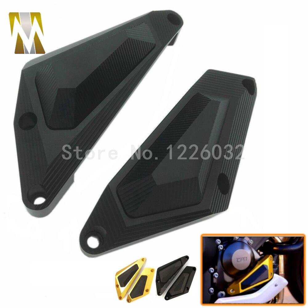Новое Прибытие черный цвет мотоцикл двигателя статора Крышка Рама слайдер протектор для YAMAHA Мотоциклы MT7 МТ-07 2014 2015
