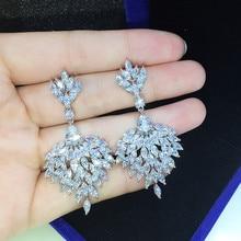 Free Shipping 2016 Latest Design Sterling Silver Jewelry  Earrings Best Women Gifts Fashion  Drop Earrings GLE5919