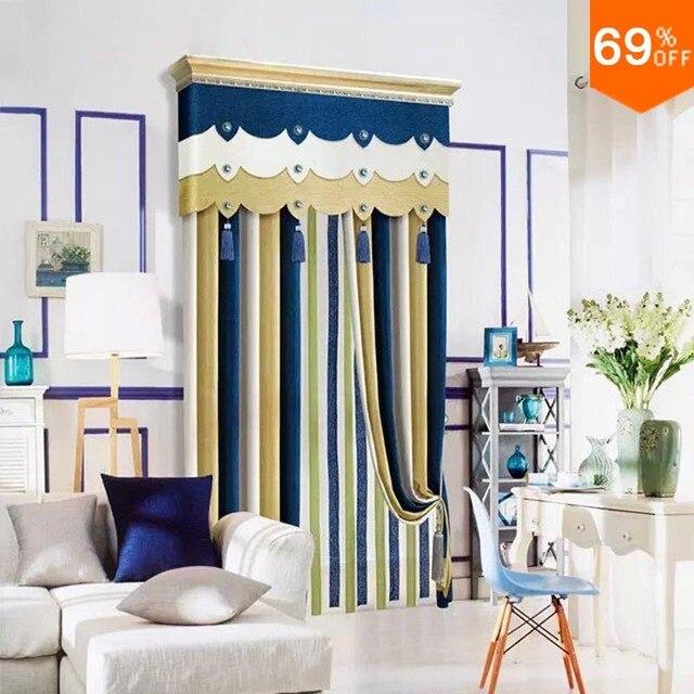 Yellow line linellae Royal Blue list row Column Curtain simple ...