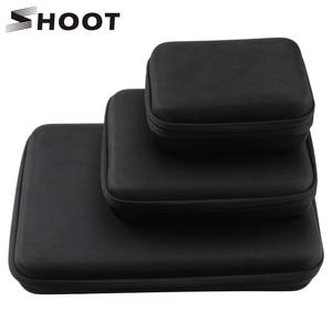 Image 1 - SHOOT duży/średni/mały rozmiar kolekcja Case dla GoPro Hero 9 8 7 czarny Xiaomi Yi 4K Sjcam Sj4000 Eken Box dla Go Pro akcesoria