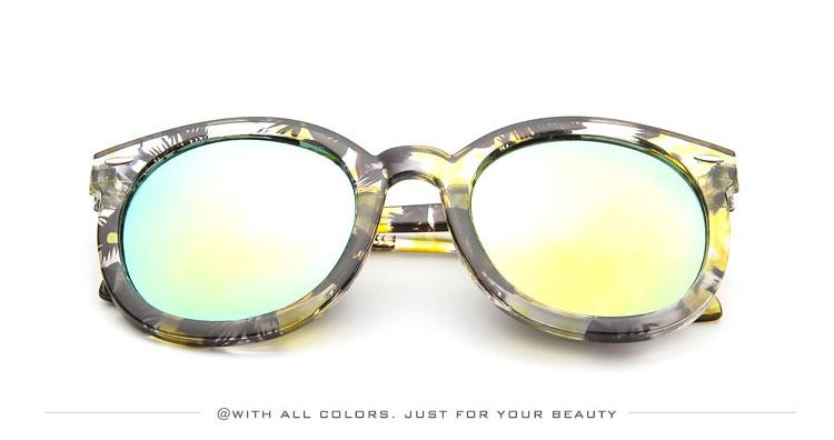 HTB16ygfSXXXXXX XXXXq6xXFXXX0 - Marbling Sunglasses Women Round Frame PTC 268