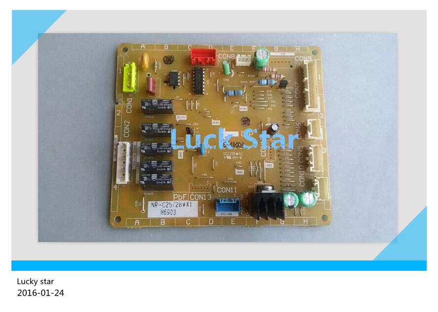 95% new for Panasonic refrigerator NR-C25/28VX1 H6903 Computer board / set on sale 95% new used for refrigerator computer board pcb01 20 v01 pcb01 20 v02 bdg23 95