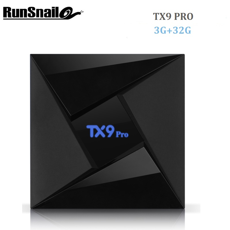 Runsnail TX9 Pro TV Box Amlogic S912 Octa-core Set-top TV Box CPU Android 7.1 3GB 32G OS Bluetooth 4.1 1000M LAN Smart TV Box 10pcs vontar x92 3gb 32gb android 7 1 smart tv box amlogic s912 octa core cpu 2 4g 5g 4k h 265 set top box smart tv box