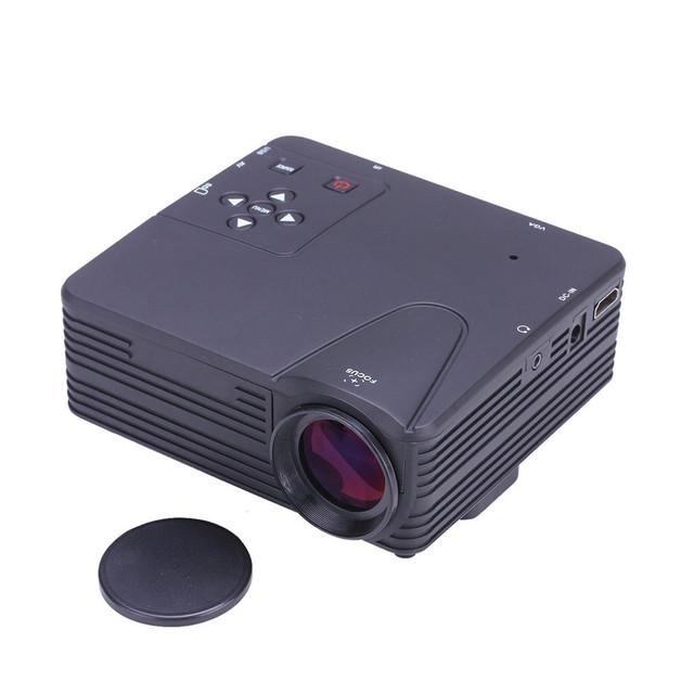 HL 1080 P HD Home Cinema Teatro Multimídia LED Projetor AV USB VGA HDMI Apr22