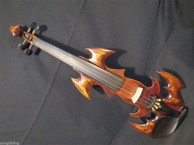 Nice Model Fancy SONG Art Streamline 4 Electric Violinsolid Wood 9569