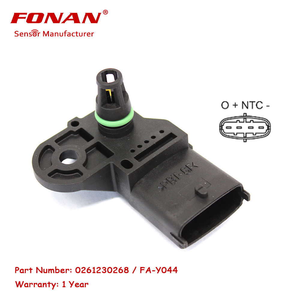 MAP Pressure sensor For FIAT LANCIA ALFA ROMEO PROTON JEEP 500 1247474