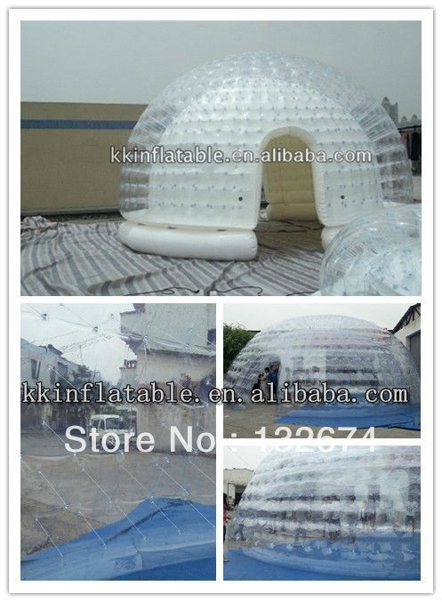 inflatable transparent tent, inflatable dome tent