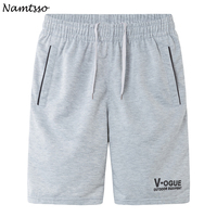 Summer men's casual  fifth pants loose plus  ...