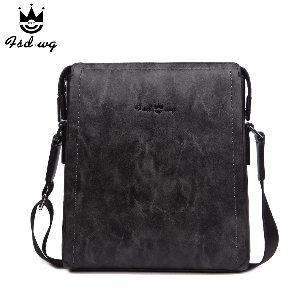 New shoulder bags men's crossbody bag leather bolsas famous brand designer mens business bag men bolsos messenger bags wholesale new casual business leather mens messenger bag hot sell famous brand design leather men bag vintage fashion mens cross body bag
