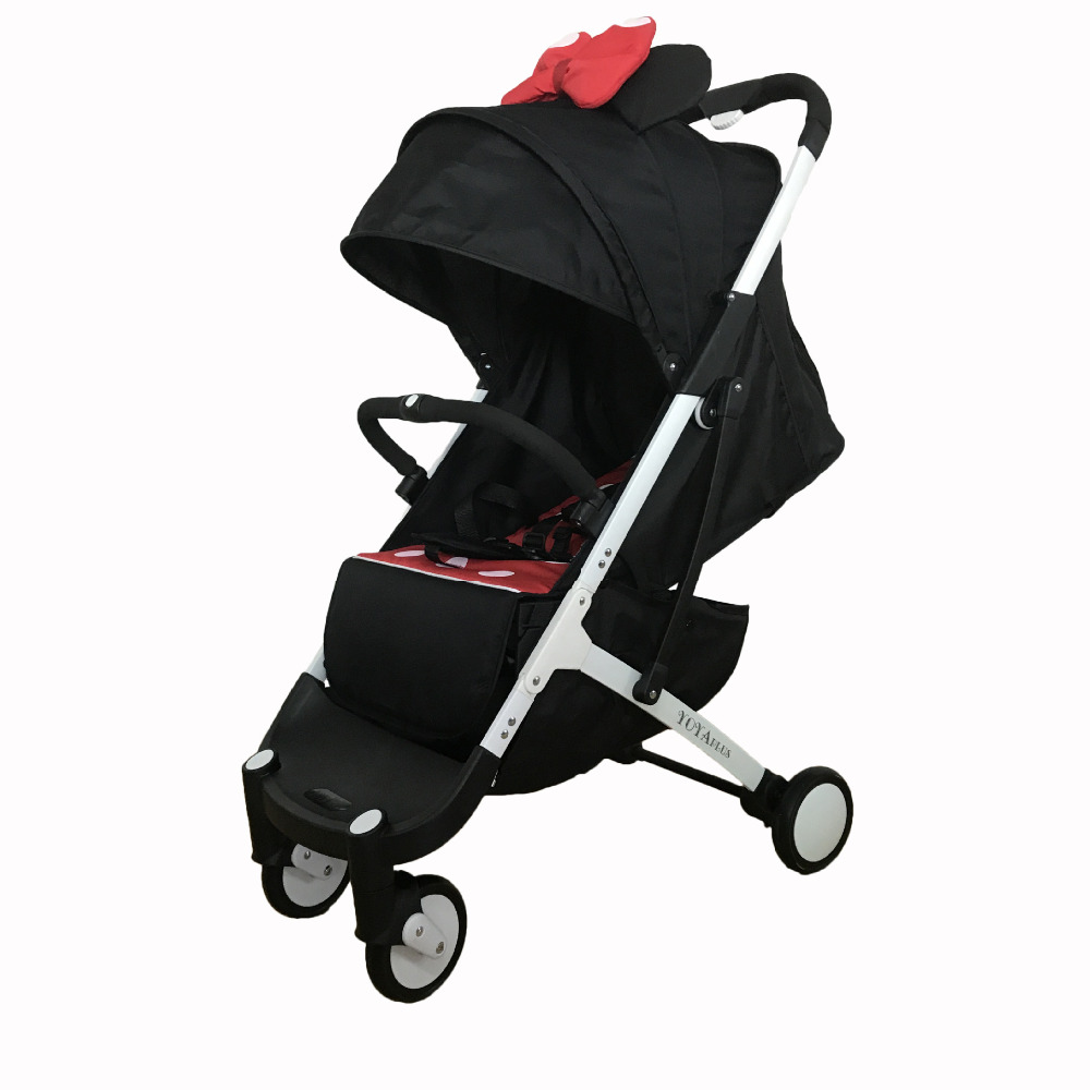 2018 baby stroller can be on plane stroller baby use 175 degree newborn sleeping baby pram Ultralight umbrella carts 2017 top fashion stroller europe baby stroller 2 in 1 175 degree sleeping basket 0 36 months pocket carraige pram trunk