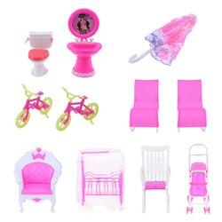 1 шт. мини кукольный домик мебель кукольный домик украшение для комнаты кукольный кресло-качалка Зонт велосипед детская игрушка подарок