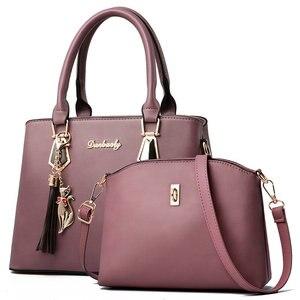 Image 2 - Sac à main polyvalent pour femmes, sac à bandoulière Simple et en diagonale, sac Composite printemps et automne, Fashion C41 67