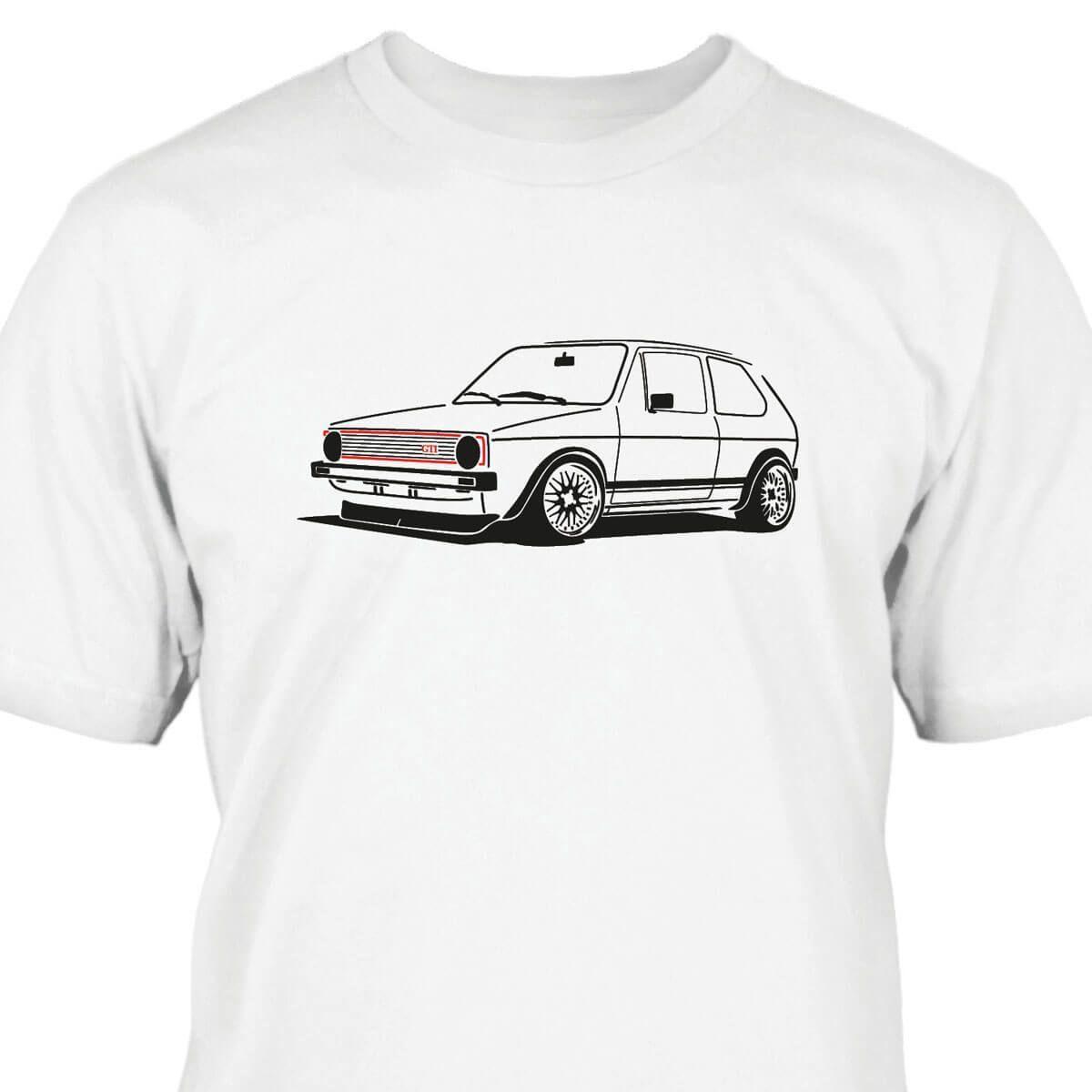 2018 Fashion Casual Men T-shirt Golfs 1 GTI T-Shirt