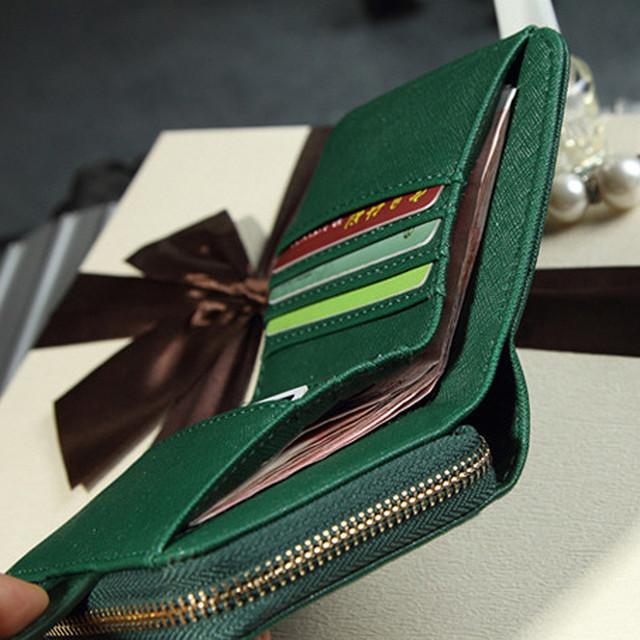 Top Quality Casual Zipper Women Wallet