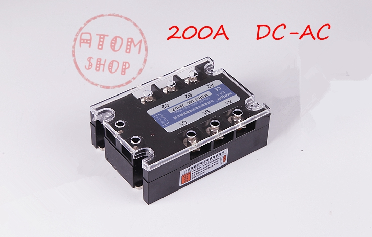 цена на Three-phase solid state relay DC -AC MRSSR-3 MGR-3 032 38200Z 200A