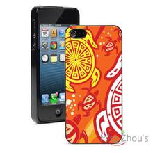 Orange Sea Turtles Protector back skins mobile cellphone cases for iphone 4 4s 5 5s 5c