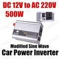 Conversor de Potência do carro Inversor Carregador USB 500 W DC 12 V para AC 220 V Transformador de Tensão Portátil modificado sine onda