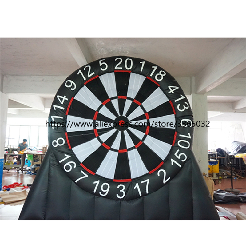 Outdoor Inflatable Foot Dart Board Inflatable Soccer Darts Game Inflatable Darts Games