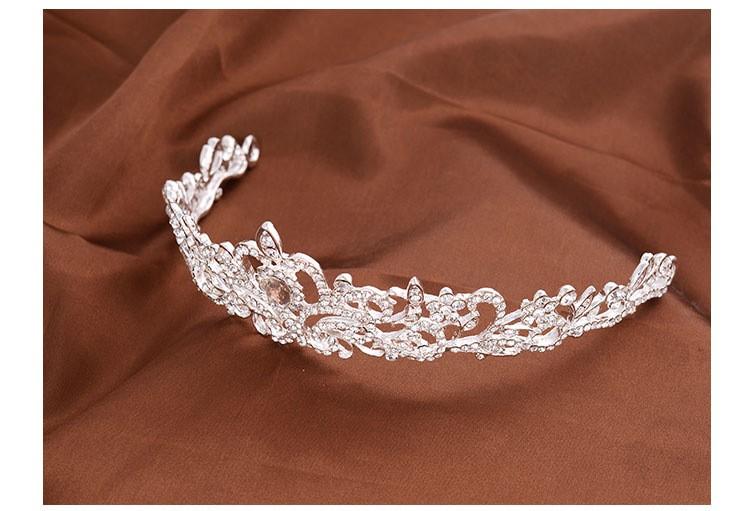 HTB16ykTLXXXXXa3XpXXq6xXFXXXl Magnificent Bridal Prom Pageant Crystal Inlaid Queen Tiara Crown - 2 Styles