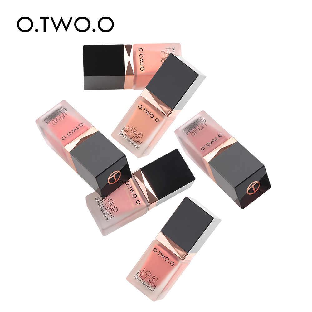 O.TW O.O แต่งหน้า Face Blusher เพรียวบาง Silky Paleta De Blush สีมีอายุการใช้งานยาว 4 สี NATURAL Cheek Blush Face contour