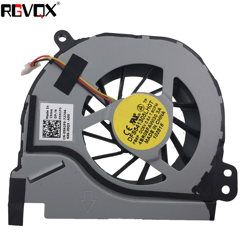Купить с кэшбэком New Laptop Cooling Fan For DELL Inspiron 5420 I5420 Vostro 3460 PN:MF75120V1-C120-G99 4BR08FAWI30 CPU Cooler/Radiator