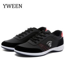 YWEEN Mens Casual Shoes New Arrival Lace-up Fashion Sneakers Men Leisure