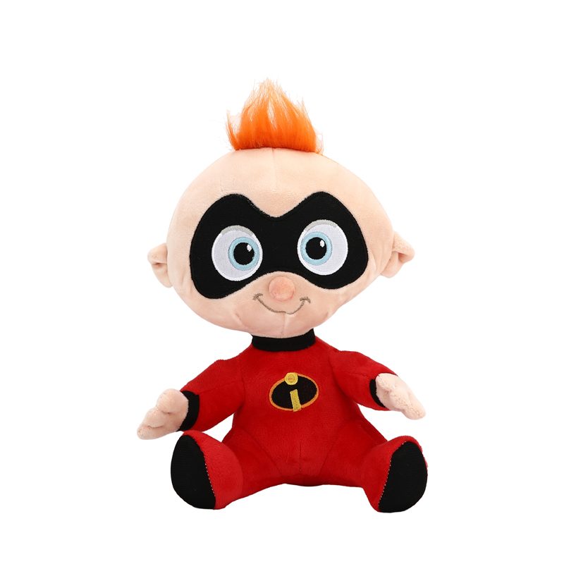 20-25cm The Incredibles 2 Plush Toy Doll Mr Incredible Family Helen Jack Bob