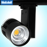Free Shipping 30W COB LED Track light clothing store LED rail light High Bright AC85 265V Warm White/White/Cold White