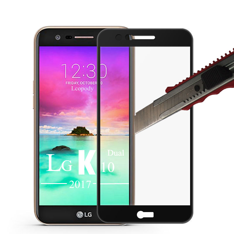 3D Tempered Glass For LG K10 2017 k 10 2017 M250 LG-M250 Screen Protector fOR lg M250N M250E M250DS x400 400 sklo glas an mobil