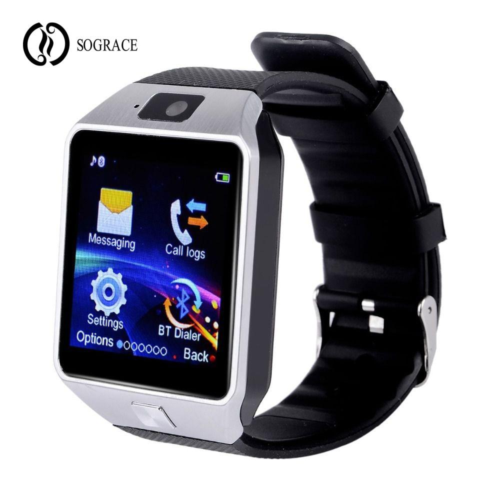 Uhren Mode de Hombre Smartwatch DZ09 Relogio Bluetooth Smart Uhr für Android Anruf 2g GSM SIM TF Karte kamera PK Q18