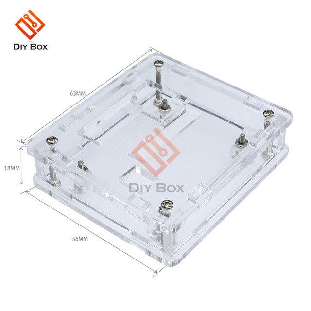 Akryl Box w1209 case obudowa przezroczysty akryl box wyczyść pokrywa termometr