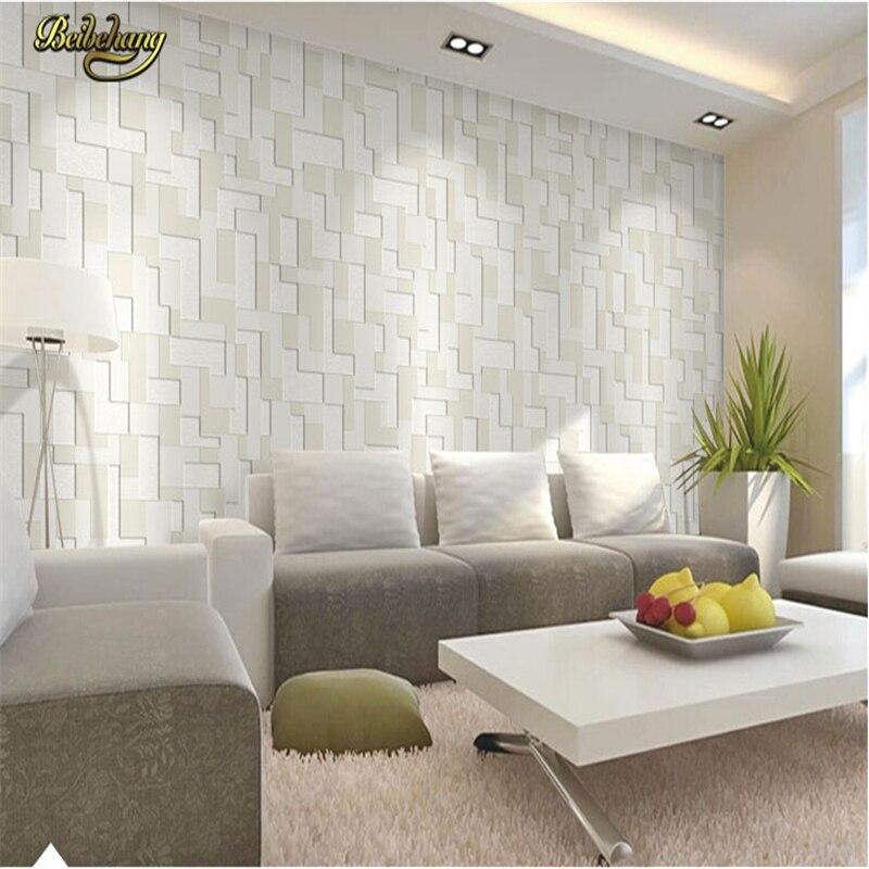 beibehang mosaico pared del rollo de papel papel pintado a cuadros para la sala papel de parede d decoracin del hogar papel de