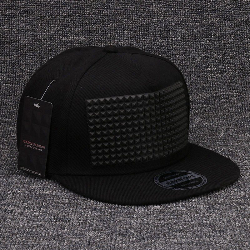 84de95ea Fancy 3D snapback cap raised soft silicon square pyramid flat baseball hip  hop hat for boys and girls-in Men's Baseball Caps from Apparel Accessories  on ...