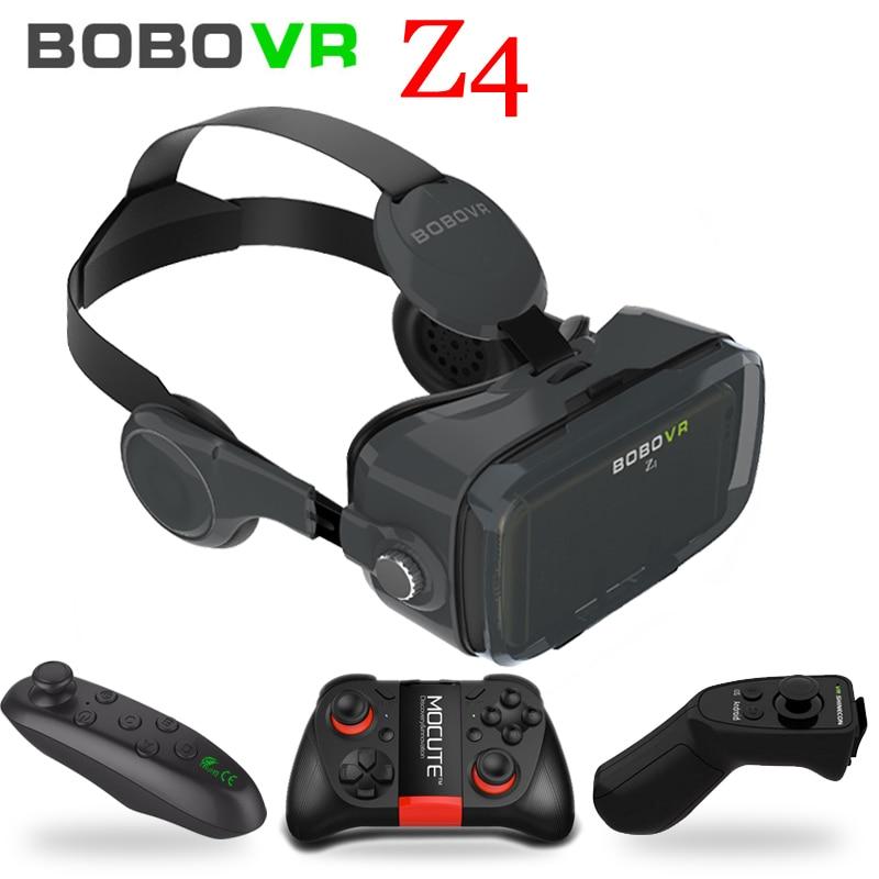 2b6ecf5ebdc Online Shop Bobovr Z4 mini box 2.0 3D vr glasses virtual reality gafas  google card board Original bobo vr Headset version For smartphone