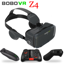 цены Bobovr Z4 mini vr box 2.0 3d vr glasses virtual reality gafas goggles google cardboard Original bobo vr headset For smartphone