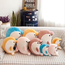 Lovely Smile Dolphin Short Plush Toy Stuffed Animal Soft Doll Birthday Gift Send to Children
