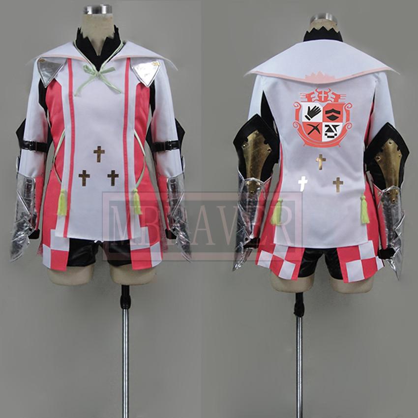 Tales Of Zestiria Arisha Uniform Cosplay Costume Custom Made Any Size