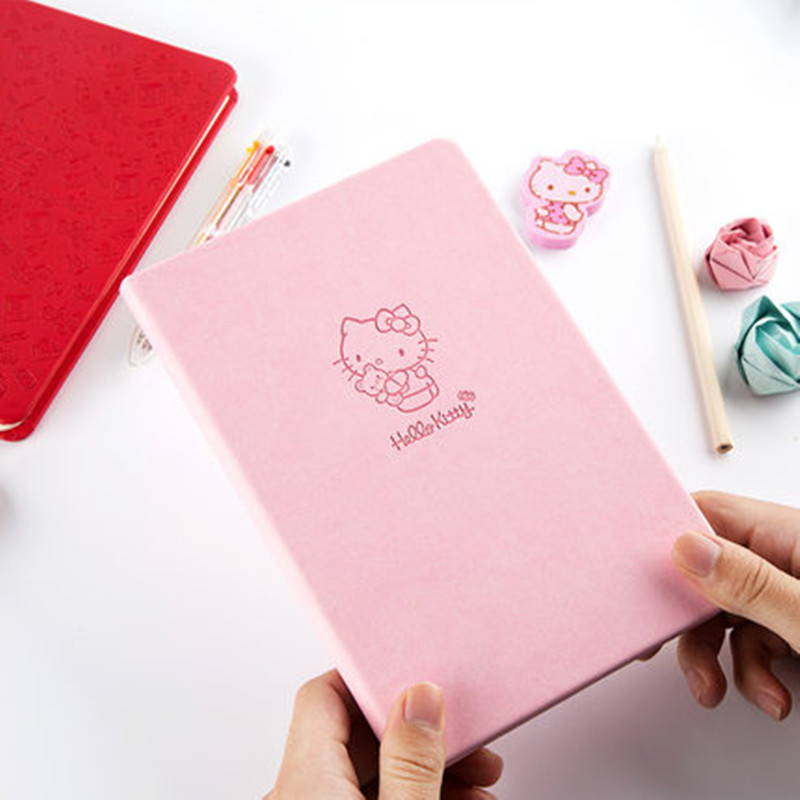 Cute Kitty 25K Notebooks Cartoon Lovely 96 Sheets Fashion Stationery Paper School Supplies High Quality Notebook Sketchbook GiftCute Kitty 25K Notebooks Cartoon Lovely 96 Sheets Fashion Stationery Paper School Supplies High Quality Notebook Sketchbook Gift