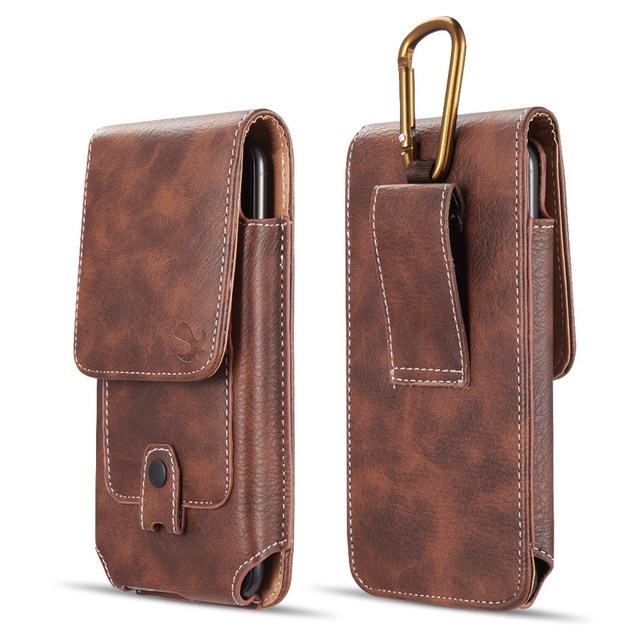 Belt Clip Phone Pouch Case Universal Mobile Phone Holster Waist  for xiaomi redmi note 4 4x 5 5a 6 redmi 5 plus 6a mi8 mi9 cover 1