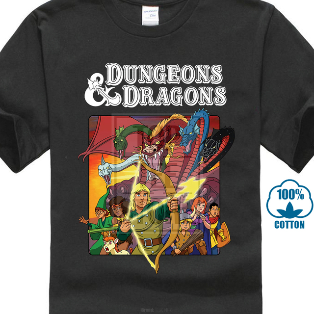320bb4b6db6 New Hot! Dungeons Dragons Old School T Shirt Size M To 2Xl-in T ...