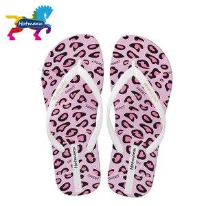 Image 5 - Suojialun kobiety sandały lato projektant klapki japonki płaskie Leopard Print plaża buty damskie Spa joga slajdy
